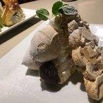ゴルチャ Golden child cafe - モンブランショートケーキ