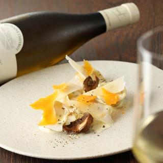 オーナーが厳選したフランス産オーガニックワインを各種ご用意
