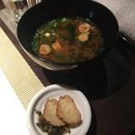 RYU - お味噌汁と漬物