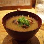 炉ばた屋 - 味噌汁