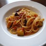 イタリア料理BAMBU - 一人分で出されるパスタ