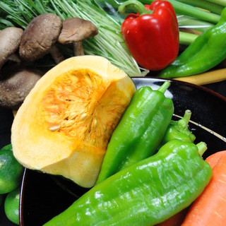 野菜ソムリエの自家農園と農家さんからの厳選野菜が選んだ自慢