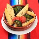 メキシカンステーキ BAR REON - 旬野菜のアヒージョ