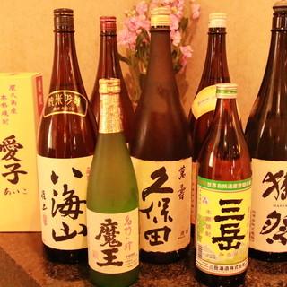 【こだわりの日本酒・各地酒取り揃えています】