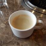 石どら - 最後はコーヒー