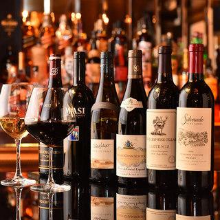 ■世界中から厳選した充実のワイン■最高の美酒を片手に…
