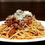 短角牛のボロネーゼスパゲティ