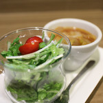 イタリア食堂&ワイン CHEFS - ランチ スープ&サラダ☆