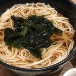 くずし割烹 白金魚 - 稲庭うどん(温)