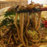 紀ノ川 - 太麺をチョイス