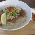 埜庵 - 檸檬鶏風温麺¥900 '11.5.