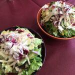 ベルネージュ - 料理写真:大盛りサラダ