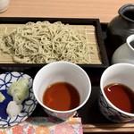 鎌倉長谷 栞庵 - せいろ つゆ食べ比べ 1,000円