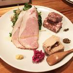 81381922 - 肉前菜ちょっとずつ盛り合わせ(1,280円)
