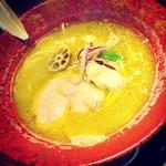 中華そば鷸 - 牡蠣ラーメン