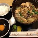信州 - すき焼定食1100円