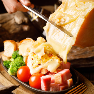 MOCMOCのこだわりラクレットチーズ