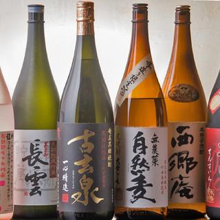 希少な季節限定酒も種類豊富に◎最高級果物ジュースも人気♪