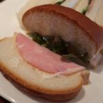 果実香 - サンドイッチの中身