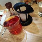 マゴメ ラボ - ランチ紅茶200円