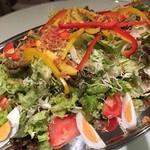 阿波踊り&ミュージック Cafe&Barコティ - ビュッフェスタイルの食事サラダ※要予約