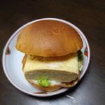 マゴメ ラボ - 出汁巻きサンド240円