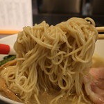 81389636 - チャーシューワンタン塩sobaの麺