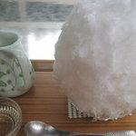 埜庵 - 甘~い梅酒ゼリー氷¥900 '11.6.