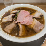 81391647 - 肉そば (煮干)