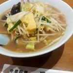 鳳来 - どっかん野菜ラーメン¥820