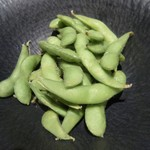 全席個室 楽蔵 - 塩茹で枝豆