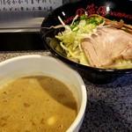 蔵一 - 鶏搾りつけ麺750円