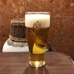 中国酒家 大三元 - 生ビール 中