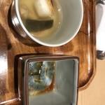 銀座 久兵衛 銀座本店 - なまこ、スッポンスープ