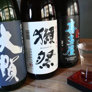 【特選日本酒】多数ご用意しております!