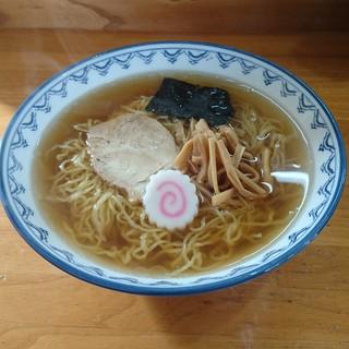 小島食堂 - 料理写真:支那そば500円(ネギ抜き)