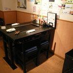 香味家 - テーブル席(一部)