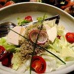 竹の庭 - おぼろ豆腐サラダ