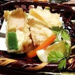 竹の庭 - 湯葉生麩チーズ春巻き