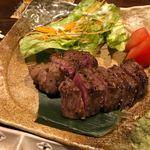 なお季 - 宮崎牛のイチボ肉ロースト