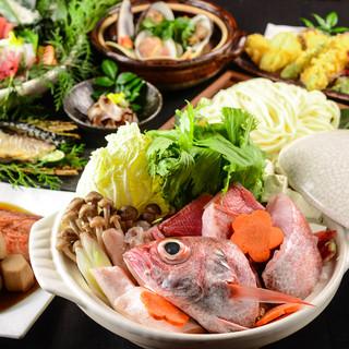 ご宴会に最適な飲み放題付コースは3000円(税抜)~ご用意!