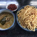 縁者 - 料理写真:辛味つけ麺とエビ辛味