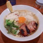 鶏ポタ ラーメン THANK - トリポターナ(830円)
