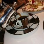 銀座 レカン - 友人のコーヒー