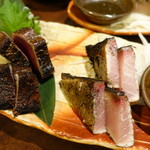 山乃家 - わら焼きセット(天然ぶりの)
