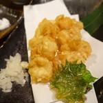 山乃家 - タラ白子天ぷら
