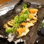 山乃家 - 牡蠣の昆布ポン酢焼き