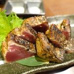 山乃家 - カツオわら焼きタタキ 塩タタキ