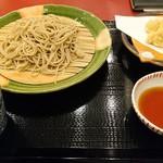 81405830 - 十割蕎麦と白子の天ぷら