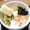 純讃岐 くるみ - 料理写真:ぶっかけうどん くるみスペシャル(冷)780円